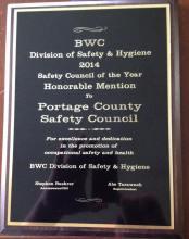 Honorable Mention Award - May 4, 2015